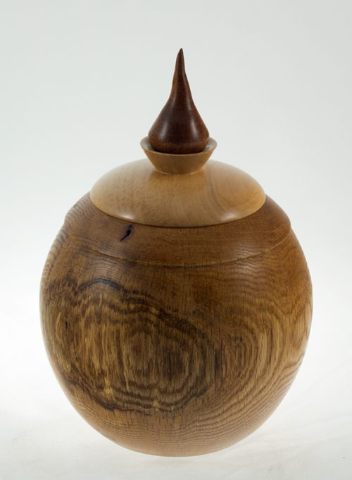 Urne funéraire en bois - Caféier du Kentucky - #20 - 6.25 x 9.5po.