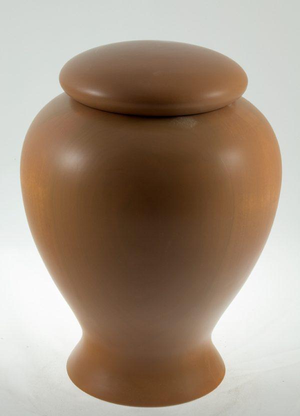 Urne funéraire en bois - #60-Peuplier Peint 7.75 x 10.5po.