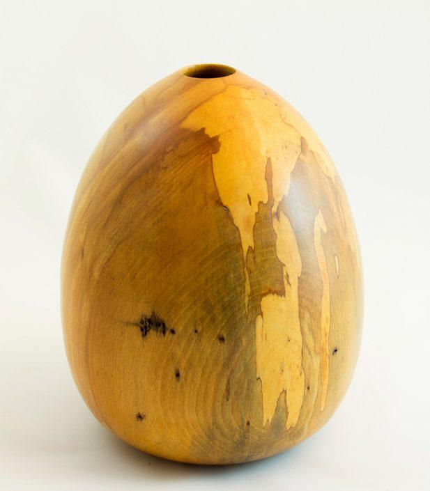 Vases décoratifs en bois tourné. Hêtre Coti. #127