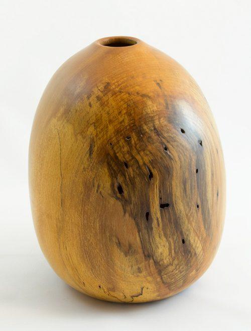 Vases décoratifs en bois tourné. Hêtre Coti. #130