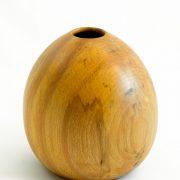 Vases décoratifs en bois tourné. Hêtre Coti. #131