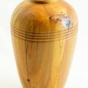Vases décoratifs en bois tourné. Hêtre Coti. #157