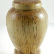 Urne funéraire en bois - #87-Bouleau Coti 7.75 x 10.5po.