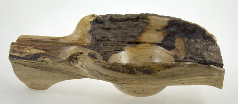 Bol en bois-Érable-15x9x4.5po.