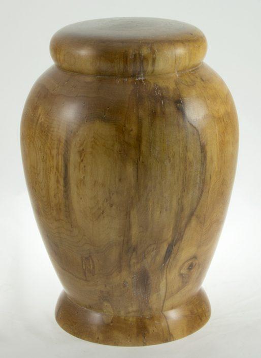 Urne funéraire en bois - #67-Erable Coti Pique 7.5 x 10.75po.
