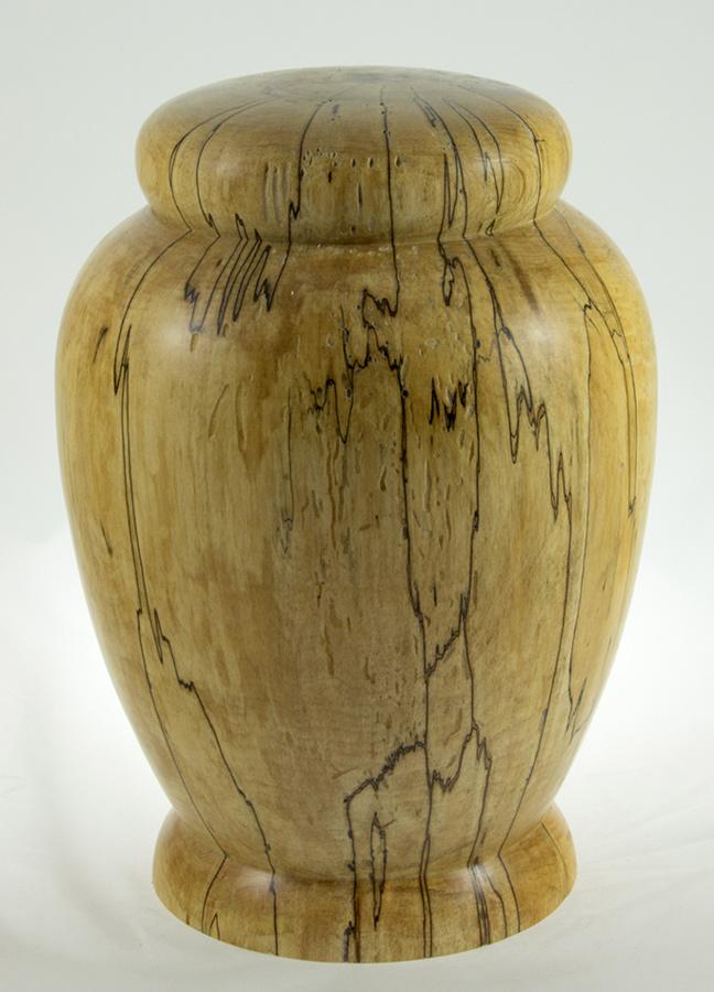 Urne funéraire en bois - #68-Erable Coti 7.5 x 10.5po.