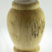 Urne funéraire en bois - #71-Bouleau Coti 7.5 x 10.25po.