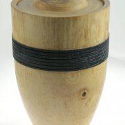 Urne funéraire en bois - #90-Frêne 7.25 x 10.5po.