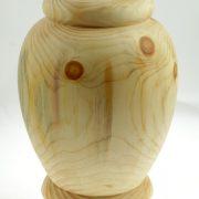 Urne funéraire en bois - #92-Pin 8 x 10.5po.