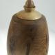 Urne funéraire en bois - #97a-Noyer Cendré 7.75 x 14.5po.