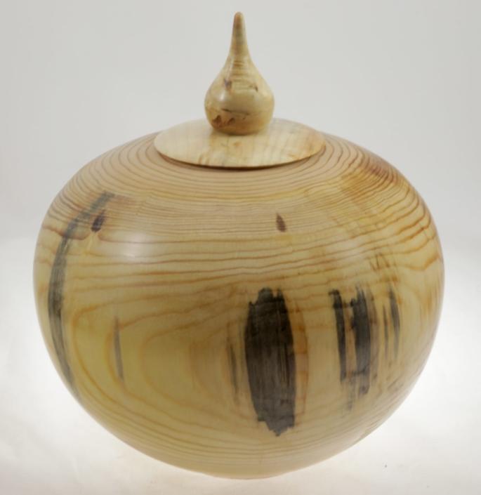 Urne funéraire en bois - #105-Pin 9.75 x 7.25 po.-250po3