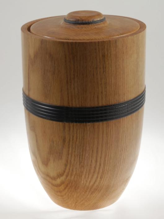 Urne funéraire en bois - #107a-Chêne 7 x 11 po.-250po3