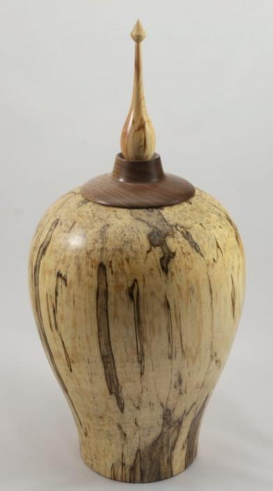 Urne funéraire en bois - #109a-Bouleau Coti 7.5 x 15.75po.