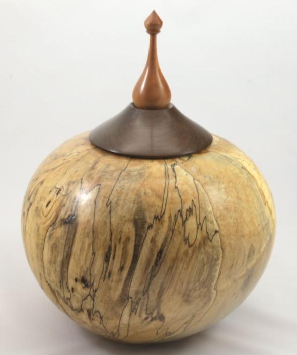 Urne funéraire en bois - #111-Érable Coti 7.25 x 13.75po.