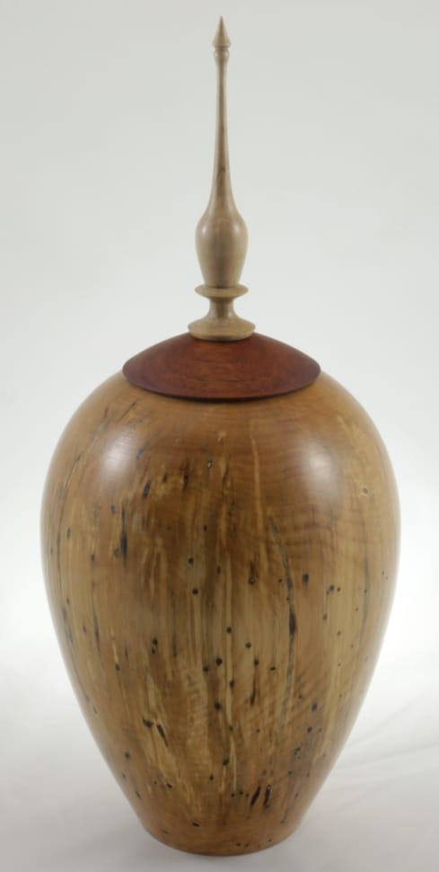 Urne funéraire en bois - #115-Bouleau Coti 7.75 x 17po.