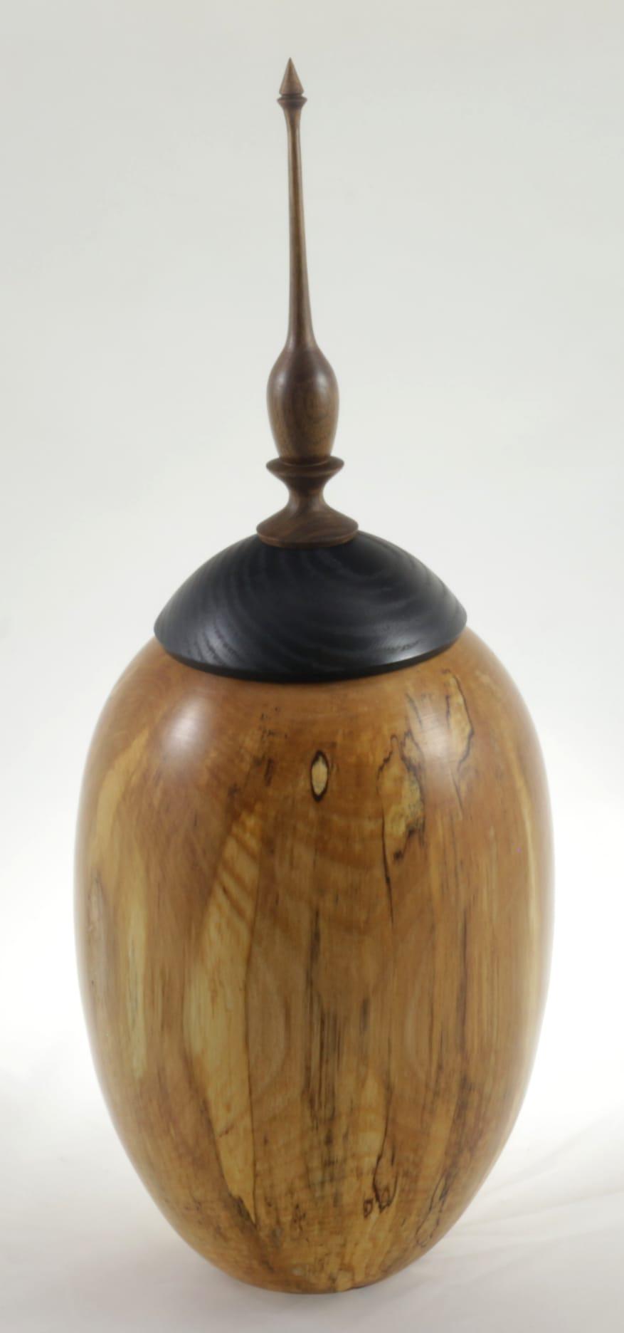 Urne funéraire en bois - #116-Bouleau Coti 7.5 x 17.5po.