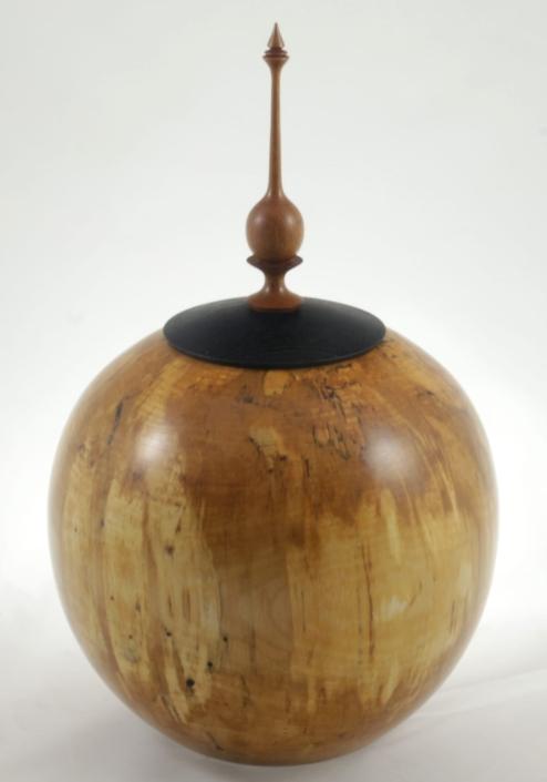 Urne funéraire en bois - #118-Bouleau Coti 9 x 13.5po.