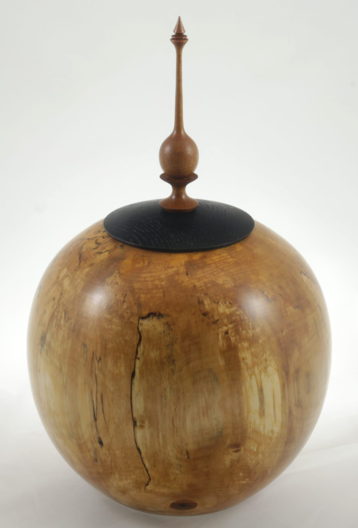 Urne funéraire en bois - #118a-Bouleau Coti 9 x 13.5po.