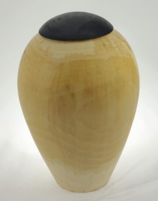 Urne funéraire en bois - #128a-Tremble 7.5 x 10po.