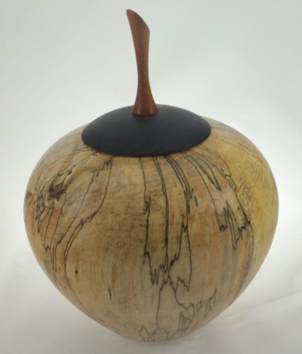 Urne funéraire en bois - #129a-Érable Coti 7.25 x 10po.