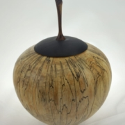 Urne funéraire en bois - #130-Érable Coti 7 x 9po.