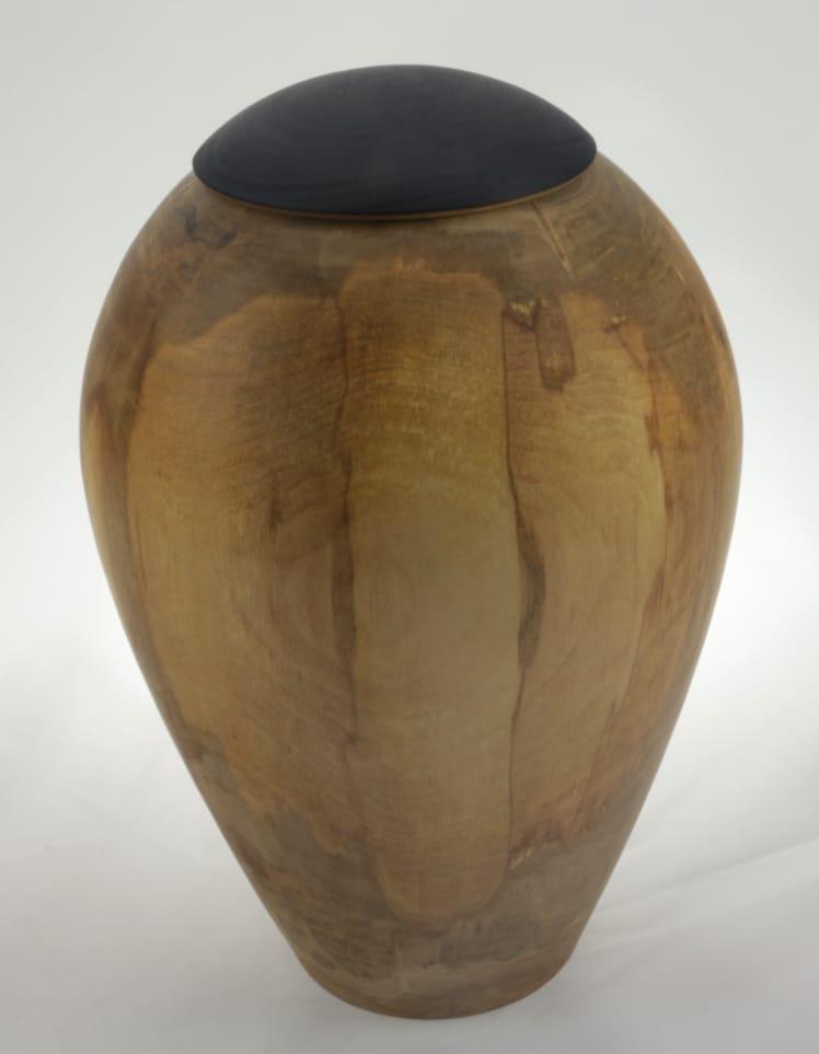 Urne funéraire en bois - #131-Érable Coti 7.5 x 10po.