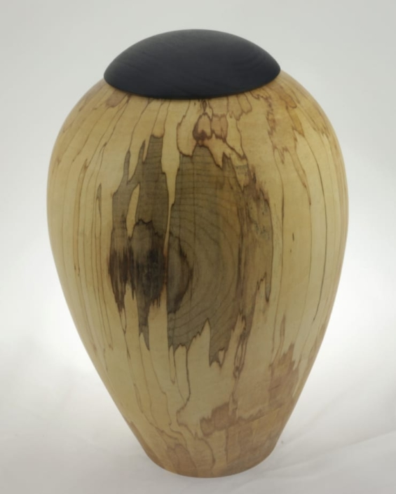 Urne funéraire en bois - #132-Érable Coti 7.25 x 10po.