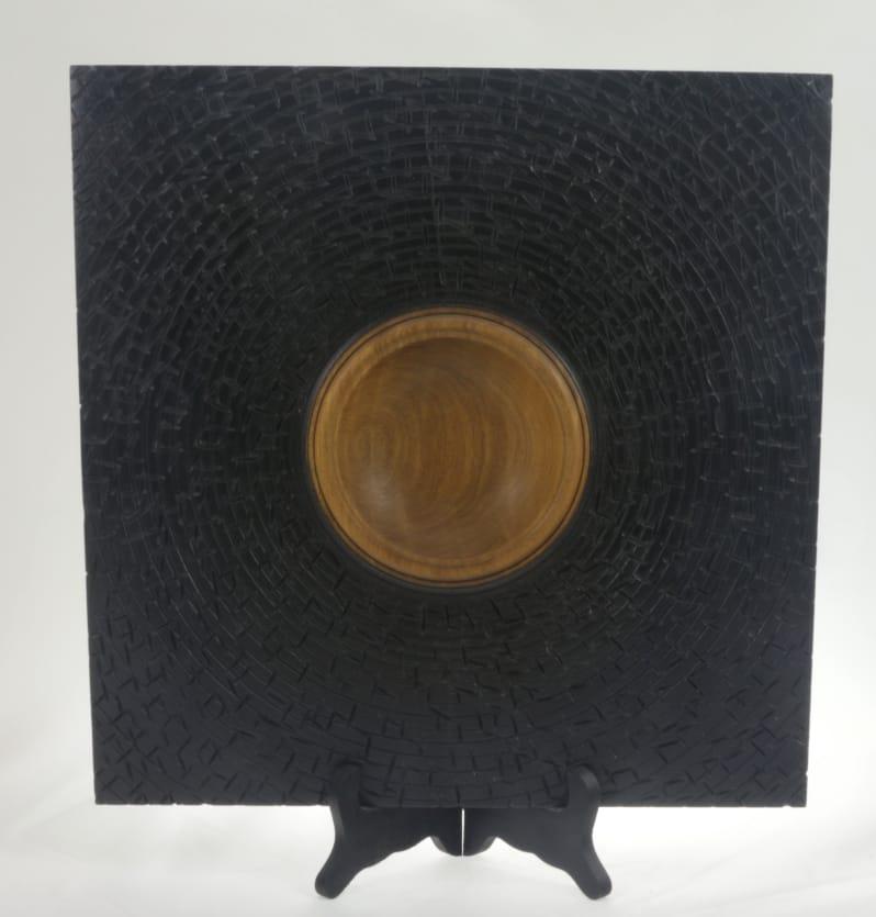 Bol en Noyer Africain #640 - 13 x 1.5po.