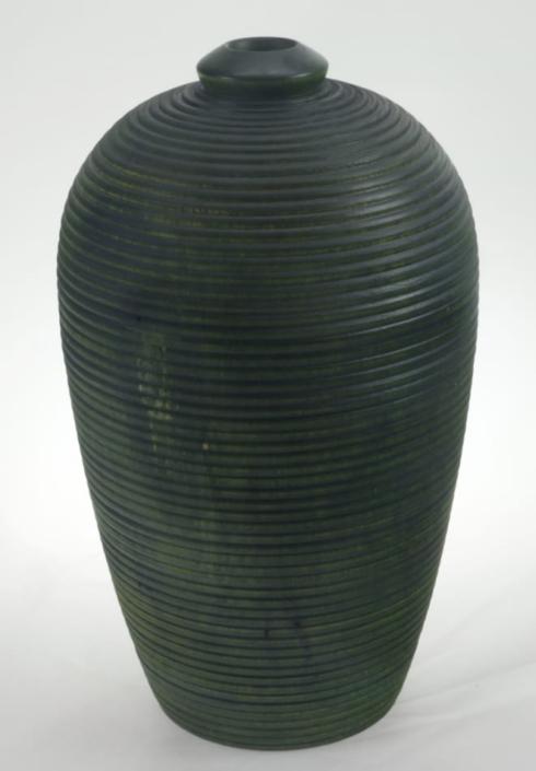 Vase en bois couleur- Bouleau #680a - 6 x 10 po.