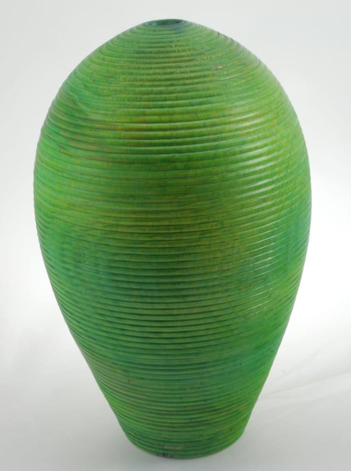 Vase en bois couleur- Épinette #684a - 7.5 x 12 po.