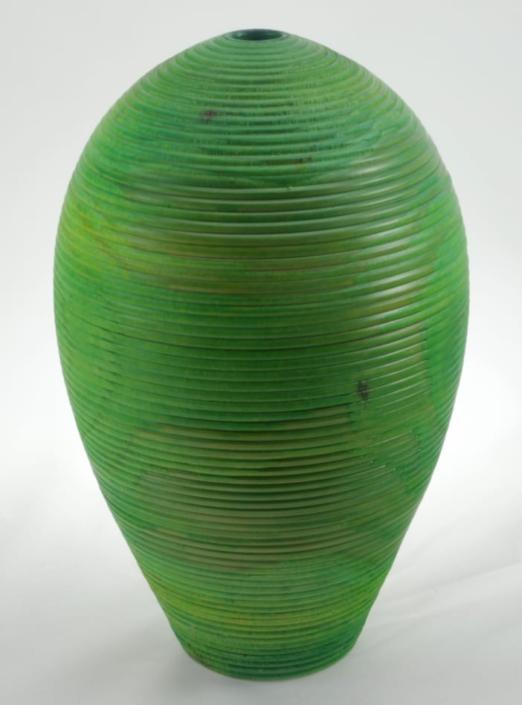 Vase en bois couleur- Épinette #684c - 7.5 x 12 po.